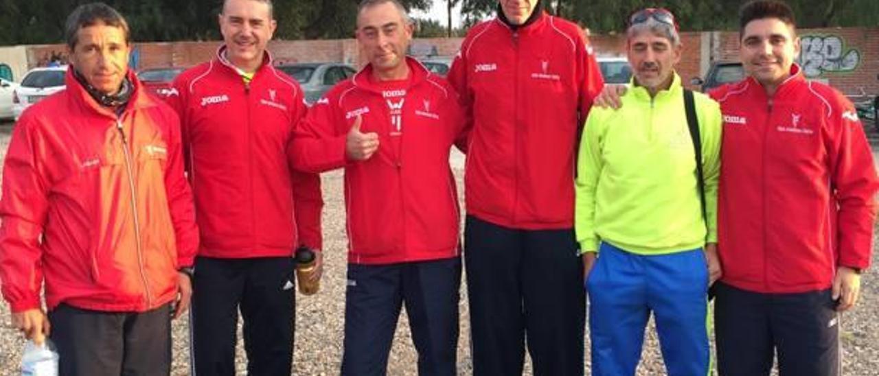 La veterana Vicenta Bañuls gana la Maratón de Castellón