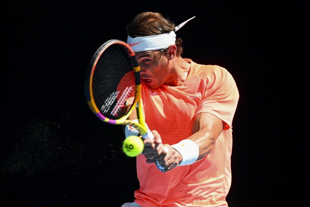 Open de Australia: Nadal-Fognini