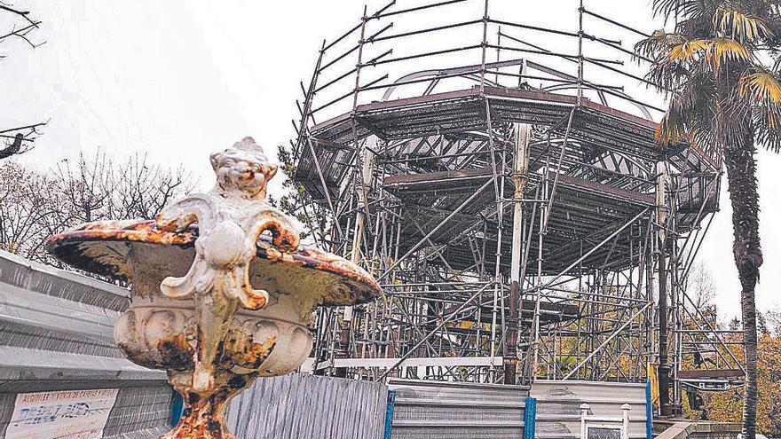 El Ayuntamiento pagará casi medio millón a quien arregle el kiosco del Bombé