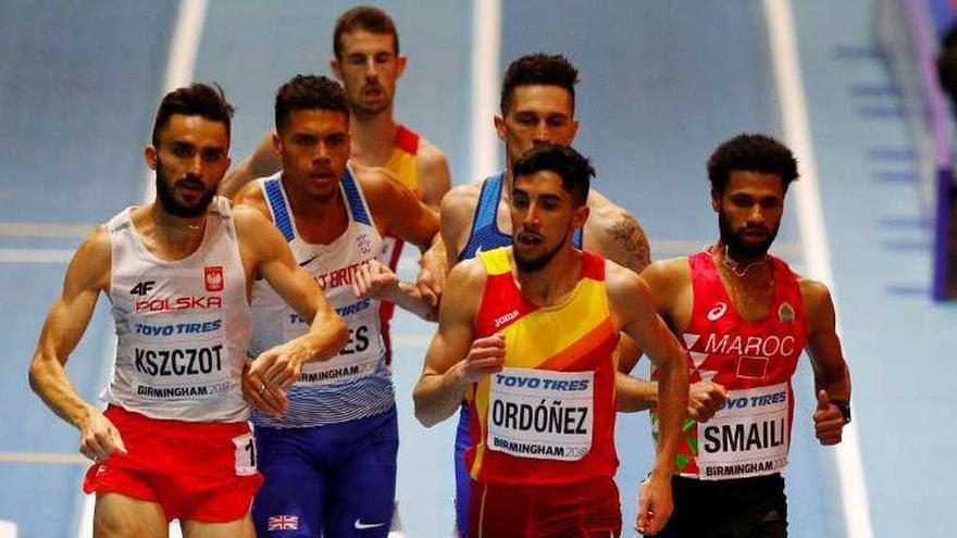 Ordoñez se baña en plata y Peleteiro logra el tercer puesto