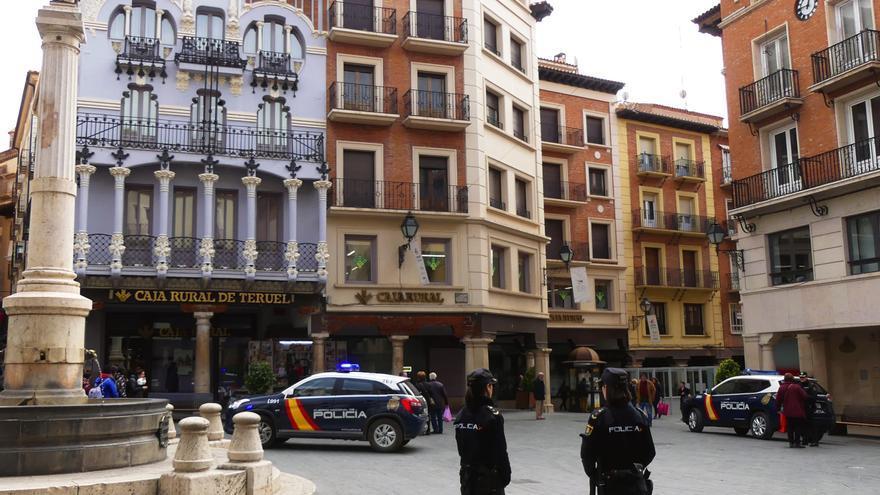 Detenido tras acuchillar en la cara a un joven de Teruel durante una reyerta