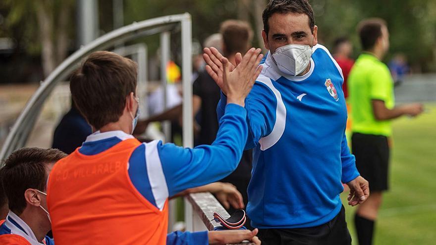 El CD Villaralbo toma confianza ante un difícil rival