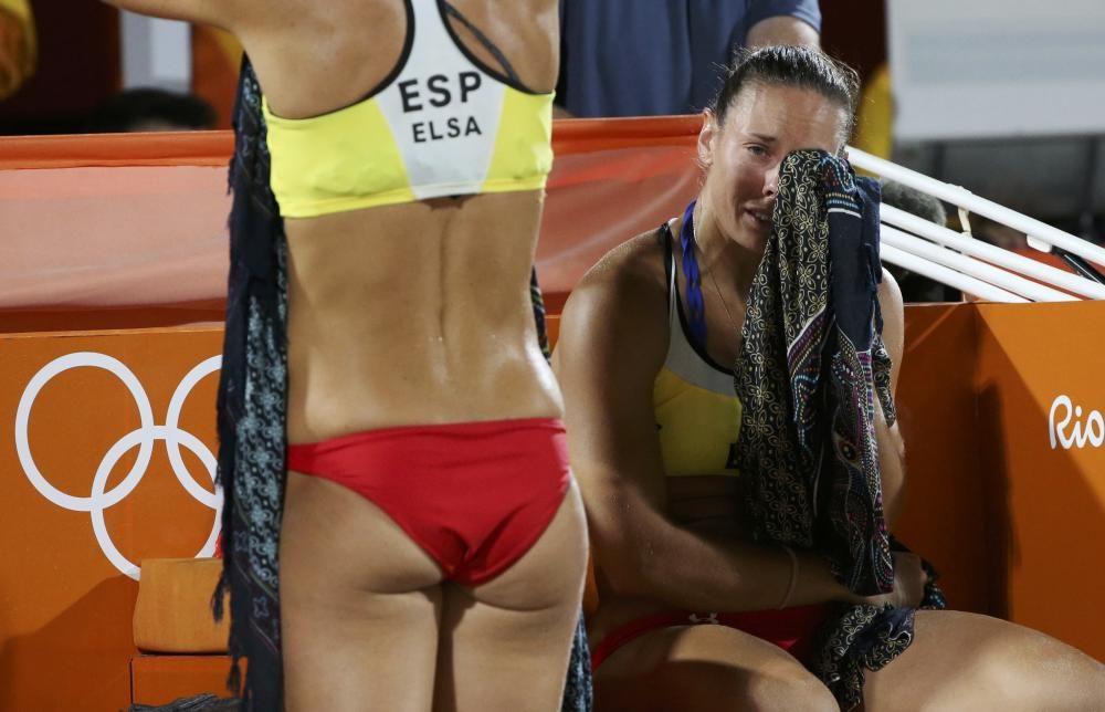 La pareja de vóley playa de Elsa y Liliana cayó eliminada en octavos después de haber ganado a una de las favoritas, Brasil, y haber pasado la fase de grupos invictas.
