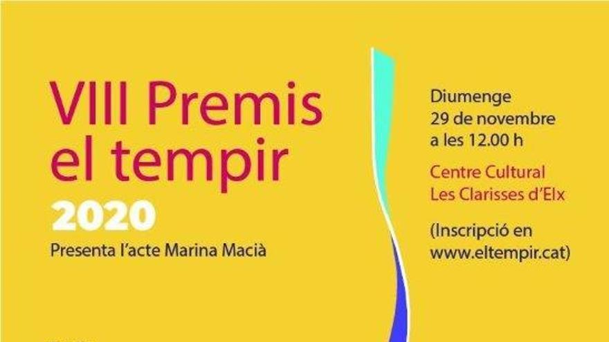 Las Clarisas acogen el domingo la entrega del Premis El Tempir