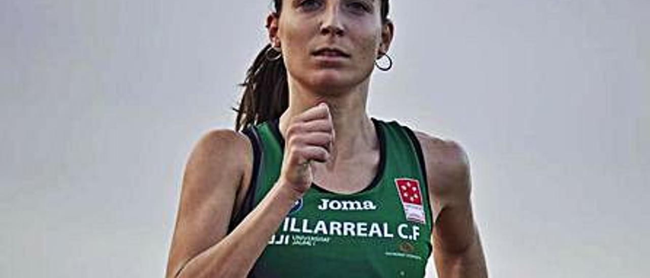 María Ureña en una carrera.   LEVANTE-EMV
