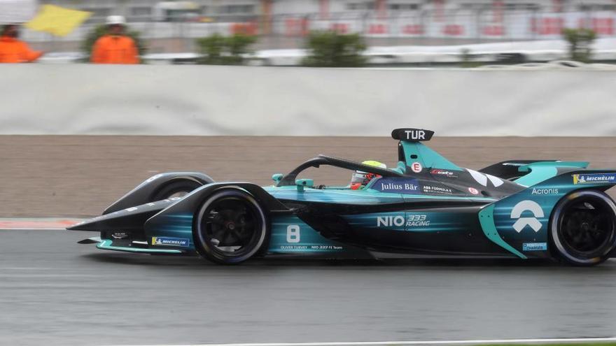 Así rueda la Formula E en Cheste