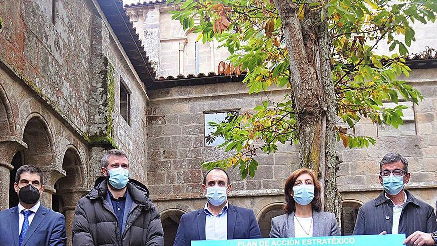 Ourense y Lugo se alía para proteger la Ribeira Sacra como un espacio único