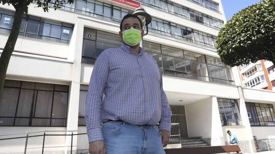 """Abel Suárez, presidente de la gestora de UGT: """"Como país no nos podemos permitir que desaparezca el sector del aluminio"""""""