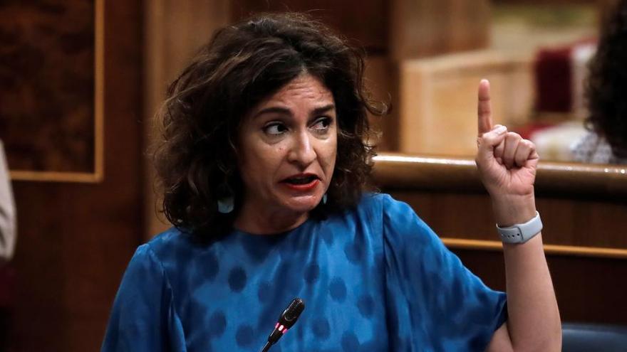 """Montero cree que """"la situación inédita"""" podría unir a Podemos y Cs en los presupuestos"""