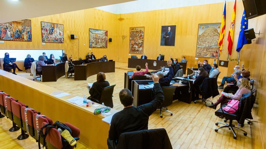 Benidorm ya tiene presupuesto para 2021: 115 millones, con ayudas sociales y obras como principales pilares de gasto