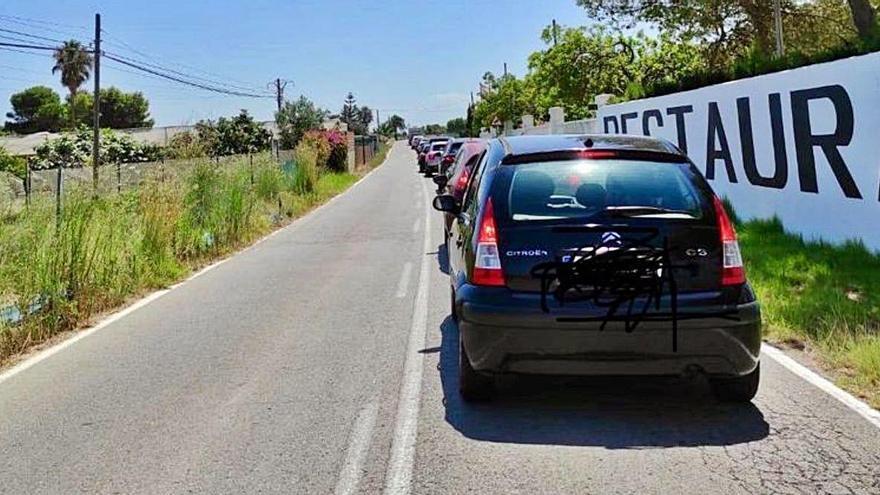 El PP denuncia que el semáforo del Palmar genera atascos