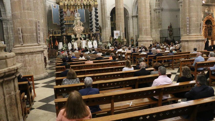 Daroca celebra con solo una misa la fiesta de los Corporales