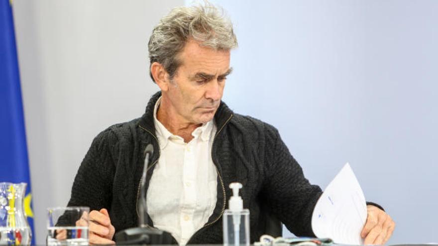 """Simón: """"A nivel general, la situación en España empeora"""""""