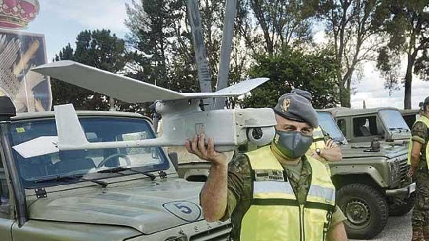 Medio millar de soldados se suma a la vigilancia contra los incendios en Galicia
