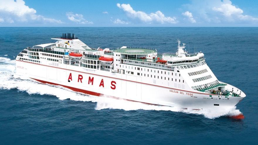Armas retoma este sábado la gestión directa de la línea Canarias-Huelva