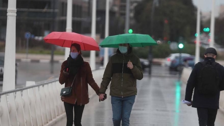 El tiempo en Valencia: nubes y lluvias para este domingo