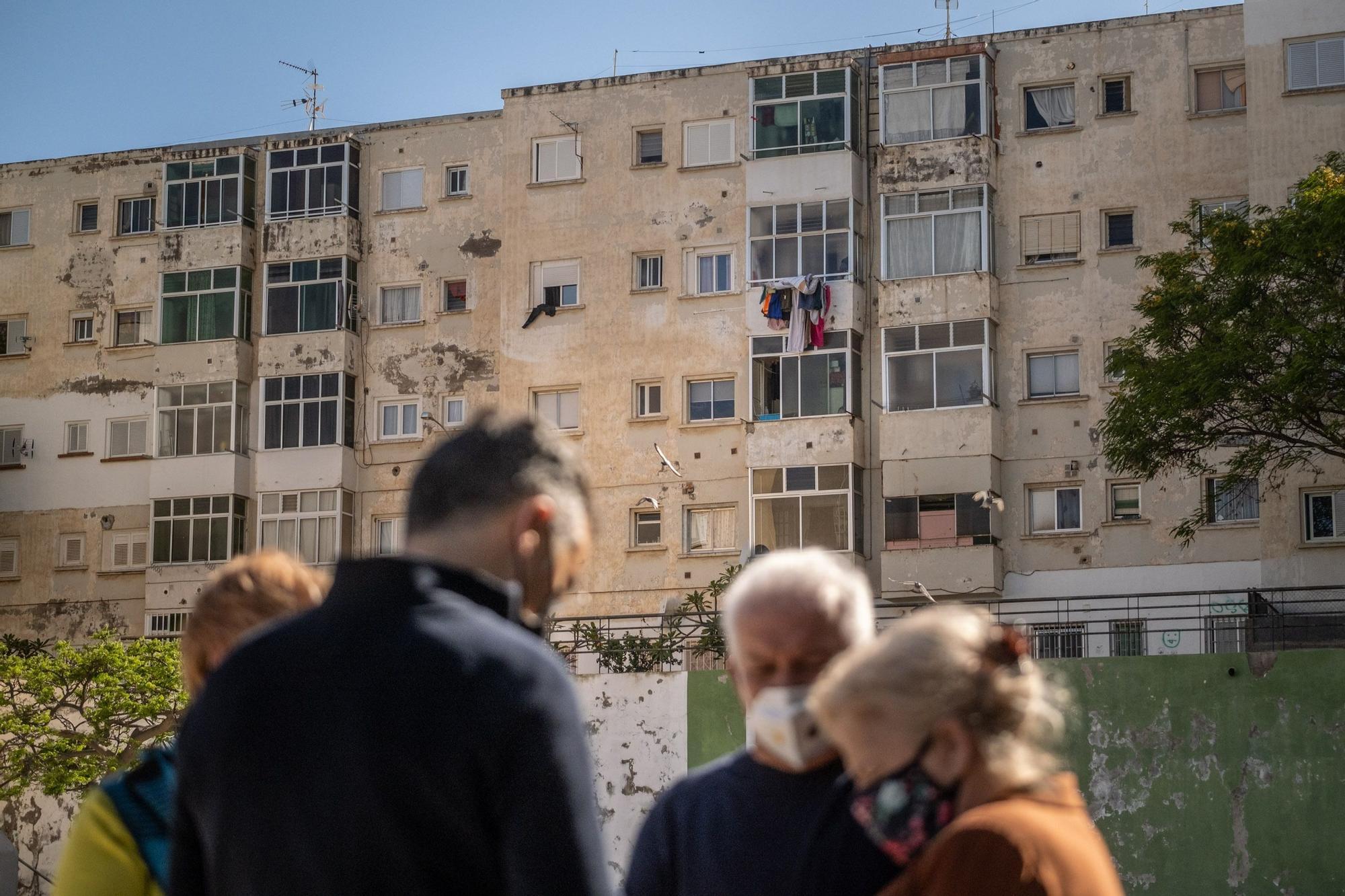 Mil viviendas del barrio de La Salud