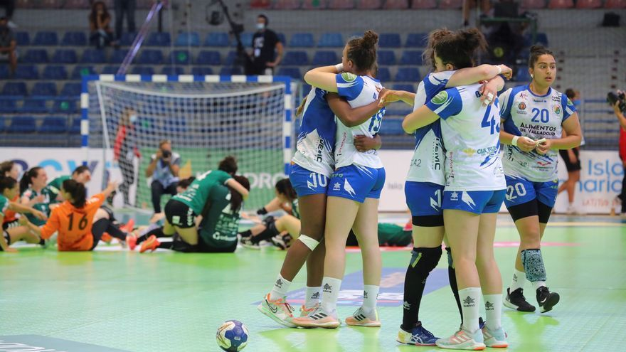 Balonmano Zamora | Elba Álvarez y Mireia Díez caen en la final de Copa de la Reina