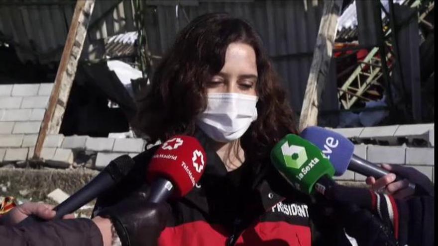 """Díaz Ayuso acusa al Gobierno de """"cambiar las reglas del juego"""" con las vacunas"""