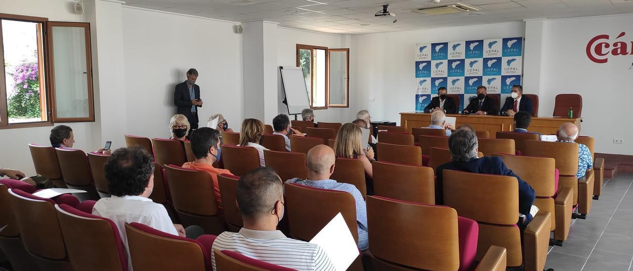El comité ejecutivo de Uepal se ha reunido en Dénia.