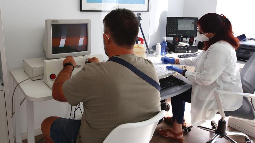 Los reconocimientos médicos para renovar el permiso de conducir cogen ritmo tras los meses de parón por la pandemia