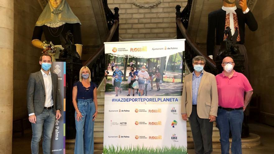 Palma acogerá el domingo el Nationale-Nederlanden Plogging Tour