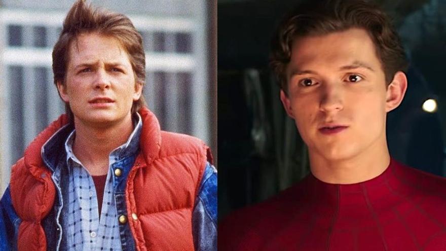 Tom Holland confiesa que negoció para el remake de 'Regreso al futuro'