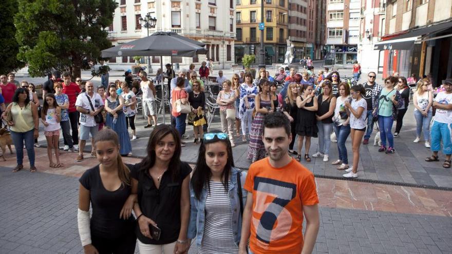 La familia de Germán, el joven agredido en Fomento, indignada con el concejal de Seguridad de Gijón