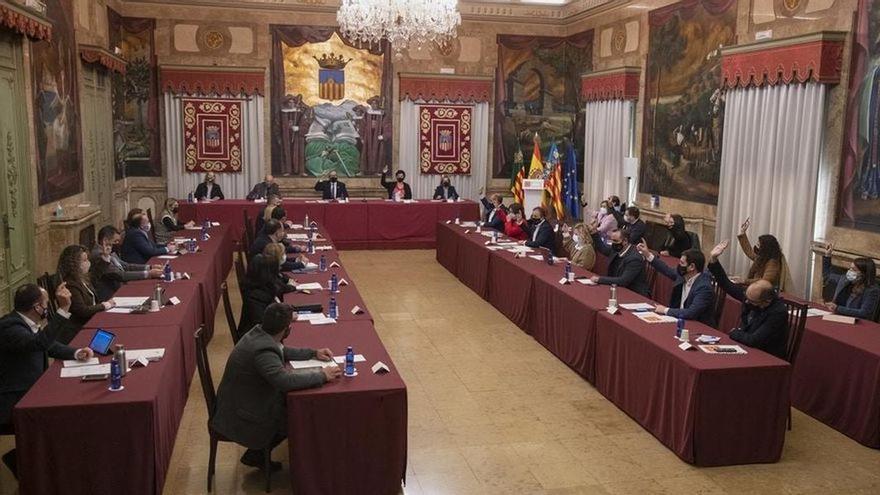 La Diputación estudia emprender acciones legales tras el ataque a la iglesia de Sant Vicent de Castelló