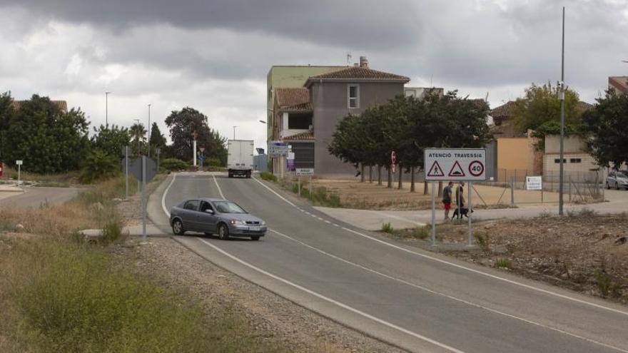 Aielo mejorará la entrada desde la autovía con una nueva rotonda