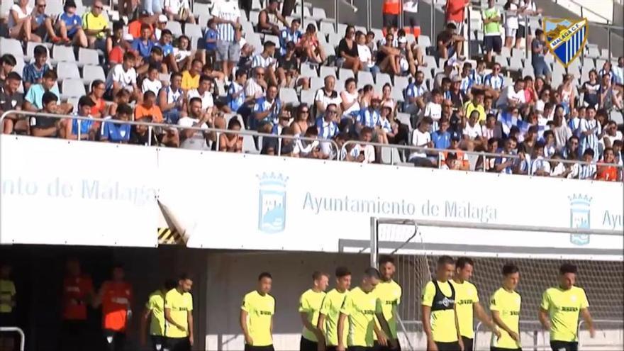 El Málaga CF abre sus puertas