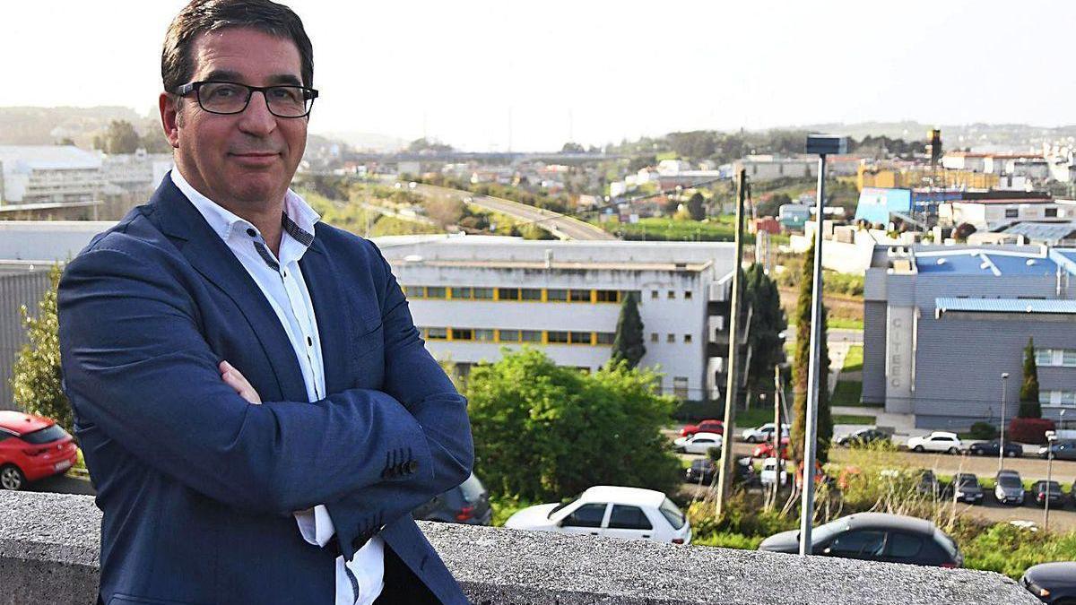 El presidente del Clúster TIC de Galicia, Antonio Rodríguez del Corral.