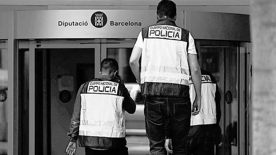 Macrooperación contra el desvío de fondos en la Diputación de Barcelona