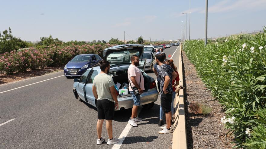 La N-340 y la CV-13, las dos carreteras más peligrosas de Castellón de cara a este puente