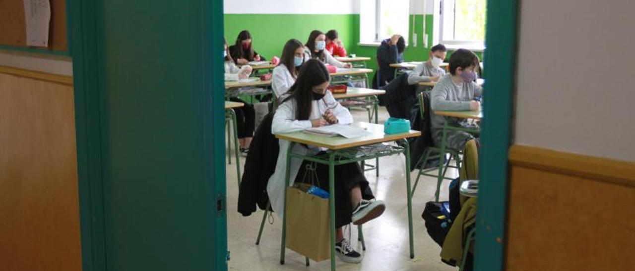 Una clase de instituto.     // IÑAKI OSORIO