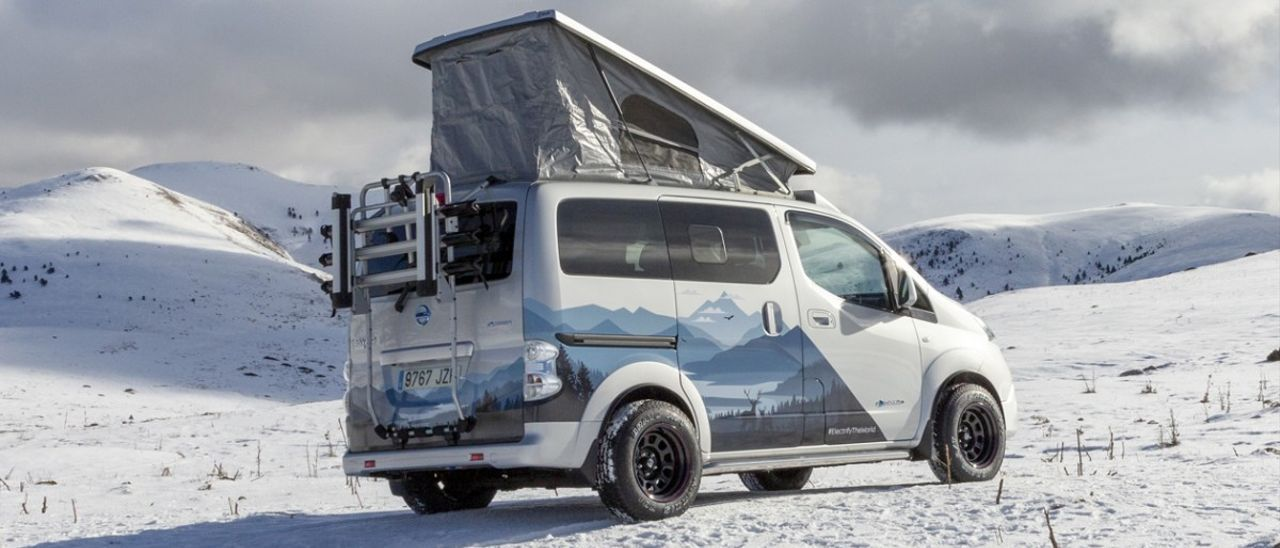 Nissan e-NV200 Winter Camper, para no quedarse frío