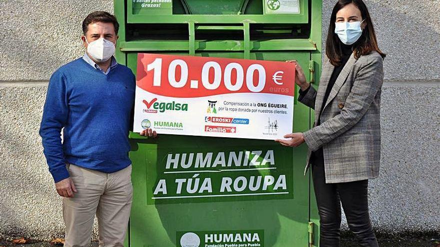 Vegalsa-Eroski dona 10.000 euros a la ONG Égueire para proyectos educativos en Costa de Marfil