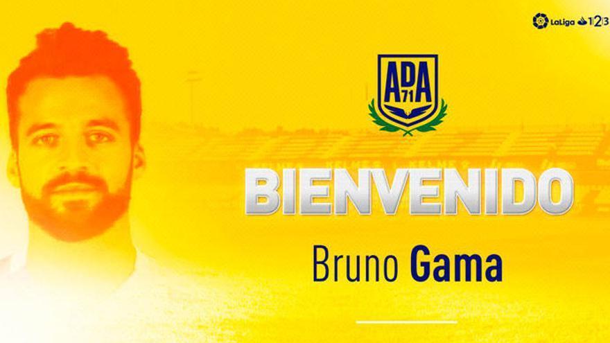 Bruno Gama jugará hasta junio en el Alcorcón