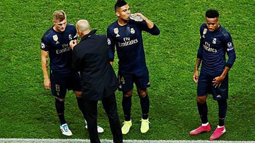 La fragilidad del Real Madrid de Zidane queda expuesta