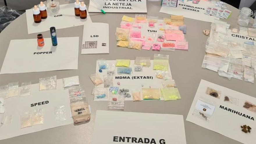 Desmantellen un grup criminal que traficava amb drogues sintètiques i medicaments sense recepta a Barcelona