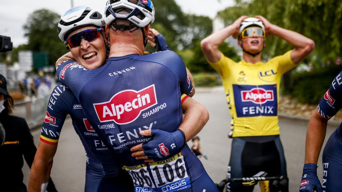 Tim Merlier se lleva la tercera etapa del Tour de Francia.