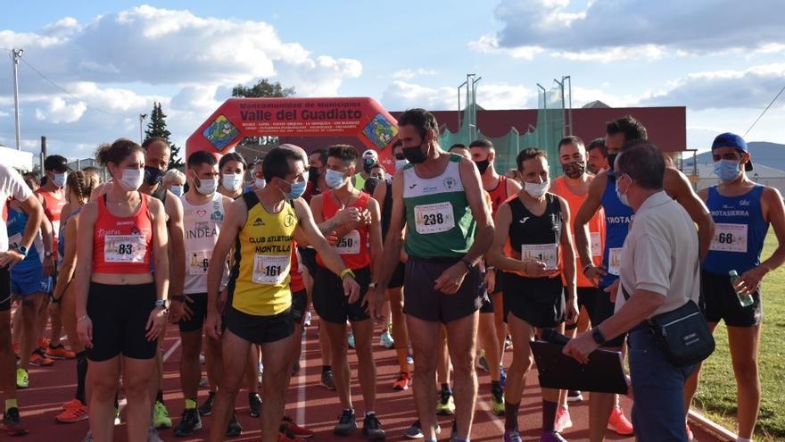Isabel Ramírez y Rafael Sánchez dominan en la carrera de Peñarroya