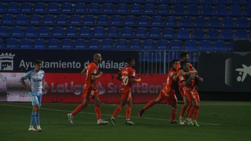 Liga SmartBank   Málaga CF 0-2 Ponferradina