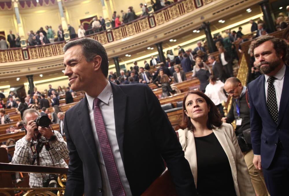 El presidente de Gobierno en funciones, Pedro ...