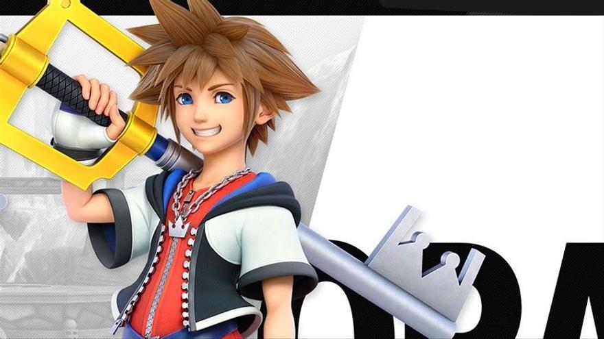 Sora de 'Kingdom Hearts', se apunta a 'Super Smash Bros. Ultimate' dispuesto a darlo todo