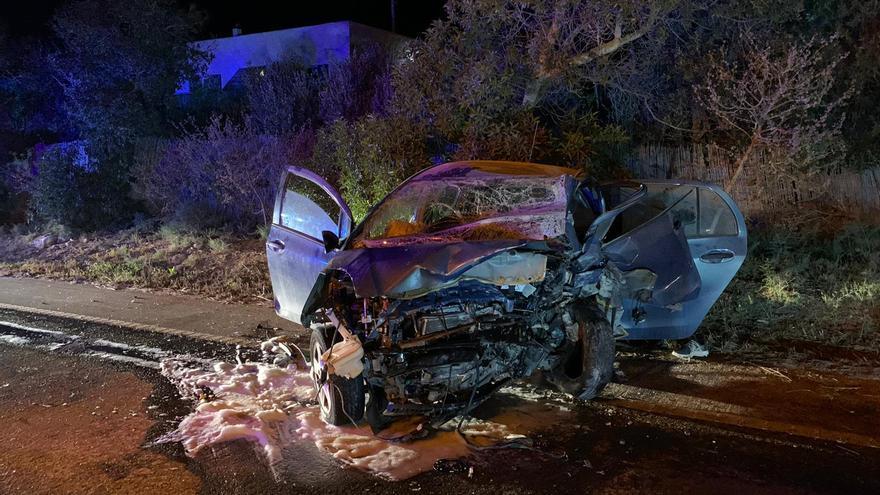 Muere un joven de 21 años en un grave accidente en Formentera