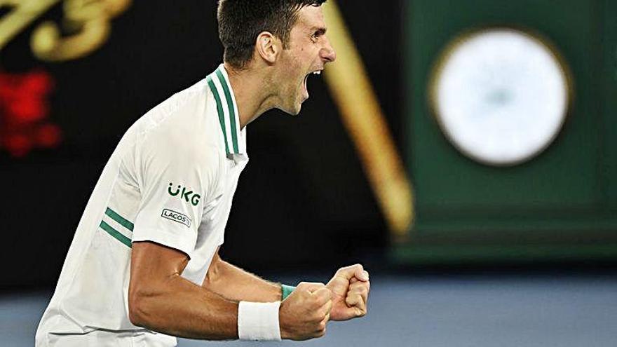 Djokovic s'endú l'Obert d'Austràlia