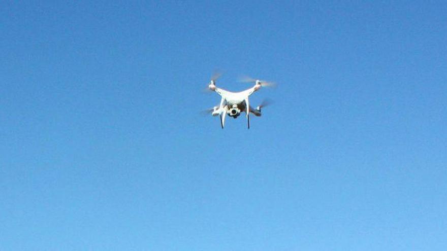 Un dron 'radiografía' el Torrelló de Almassora