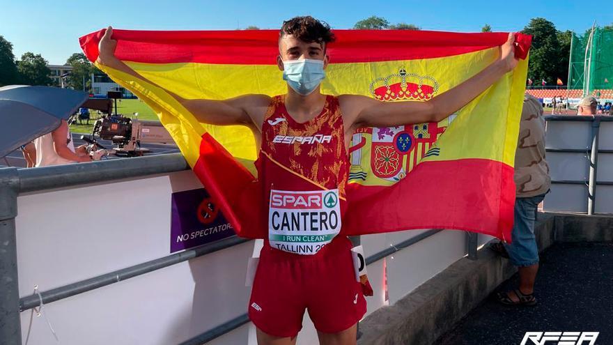 David Cantero estrena el medallero español en el Europeo sub-20