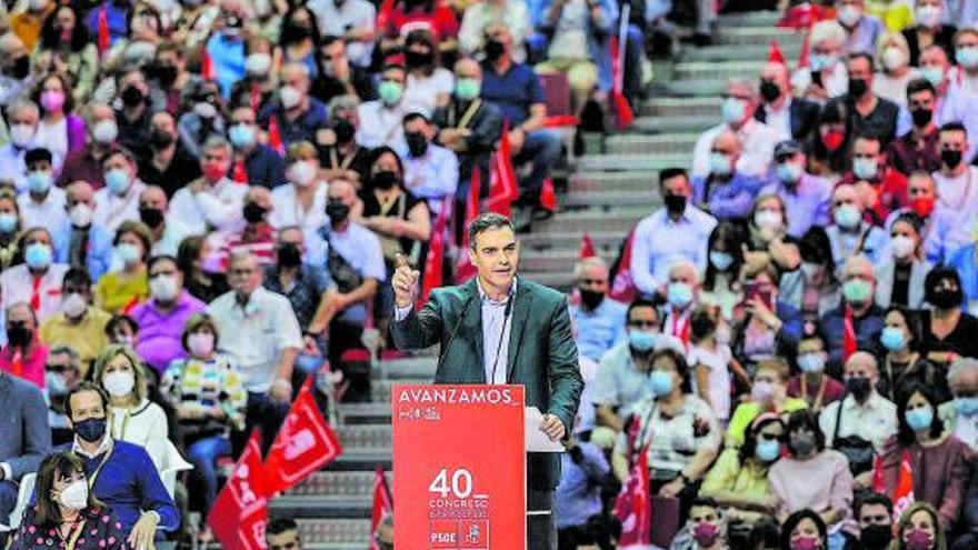 Pedro Sánchez reivindica el diàleg amb Catalunya com a eina d'unitat